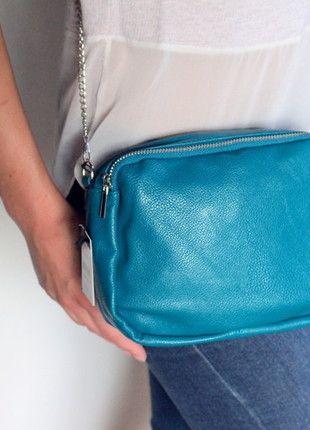 Kup mój przedmiot na #Vinted http://www.vinted.pl/kobiety/torby-na-ramie/9728373-torebka-na-ramiew-kolorze-zielonym-morskim