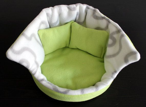 Cuddle cup. Pet sofa. Hedgehog and small guinea pig by TheHoghouse
