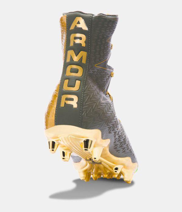 gold ua highlight cleats