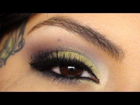 MAC Fig1, Contrast, Lucky Green Eyeshadow Tutorial   ayeedreamer