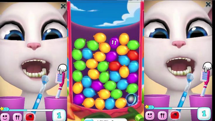 Bubble Shoot Baby Games For Kids -Talking Tom Bubble Shooter