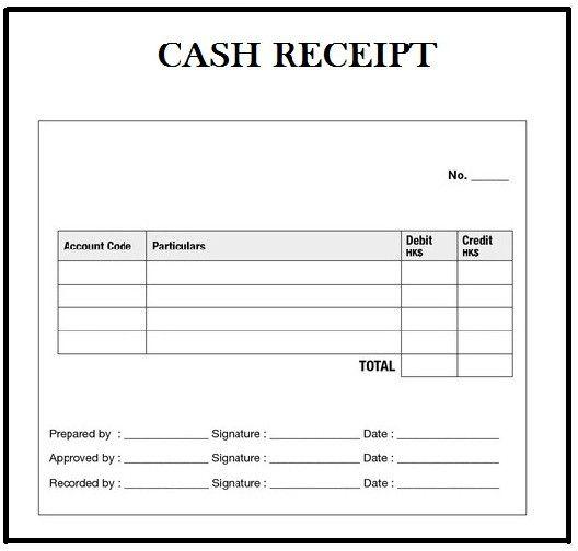 Cash Receipt Template Word Doc Best Of Customizable Cash ...