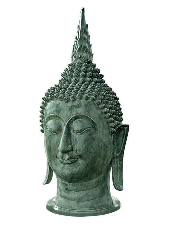 Mr Fredrik ~ Buddhahuvud 1,65 m högt - SovrumsShoppen.se