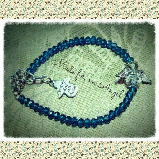 Made for an Angel crystal bracelet