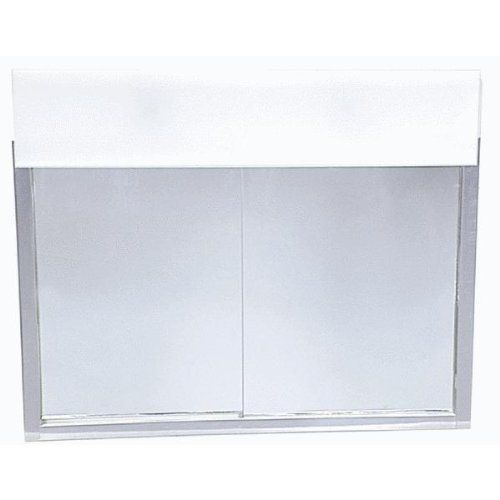 Zenith Products Lghtd Slide Med Cabinet 701L Pack Qty O Medicine Cabinets  Decorative Zenith Metal