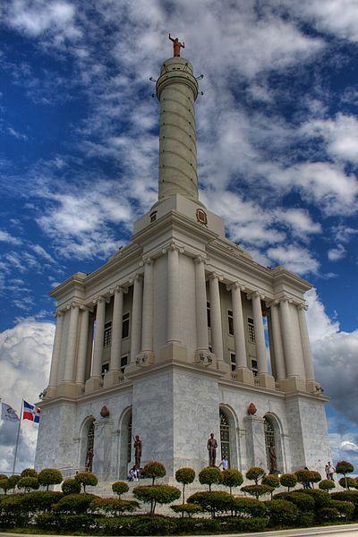 Monumento a los Héroes de la Restauración.  Santiago de los Caballeros,  DOMINICAN REPUBLIC