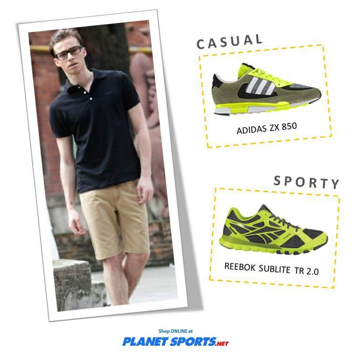 Casual or sporty?