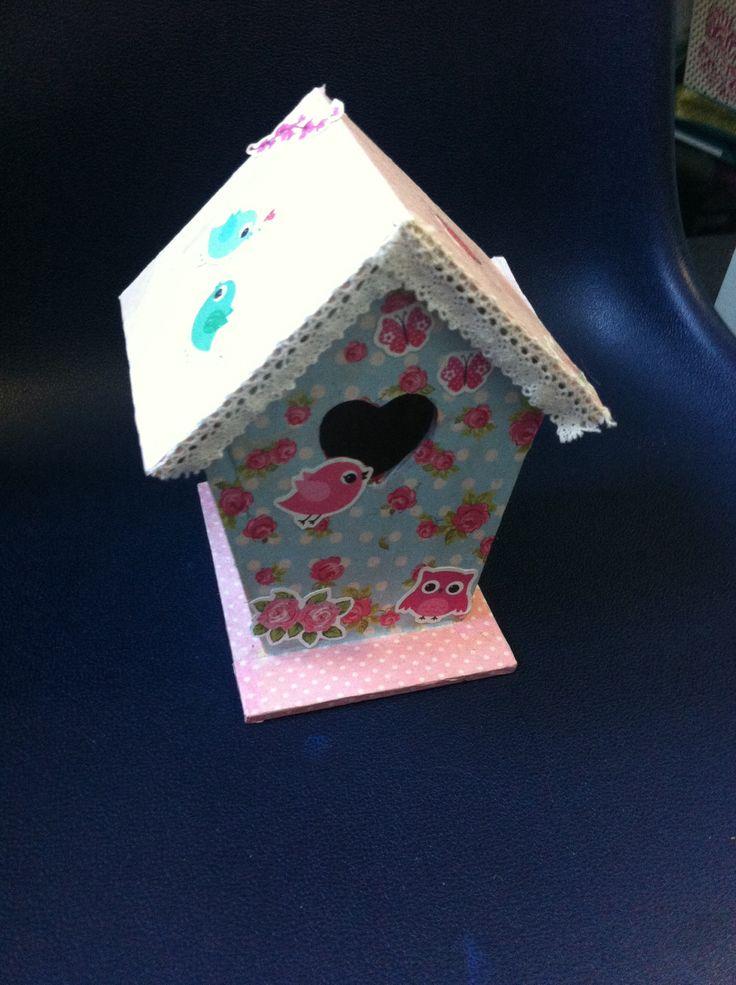 Selfmade birthhouse