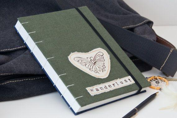 Wanderlust Travel Journal Notebook. Travel Gift. by Mettaville