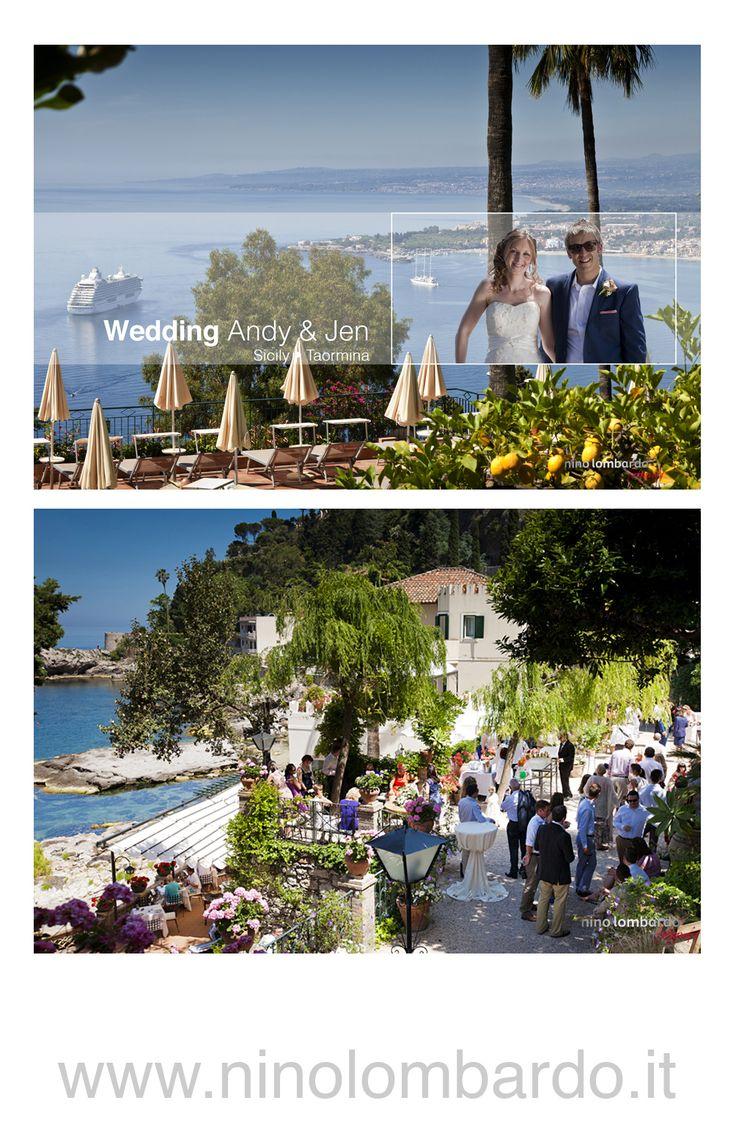 Giardini Naxos •Taormina, Sicily •Just Married • The Best Location • The beautiful shooting • Wedding Reportage • © www.ninolombardo.it