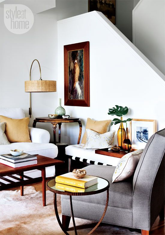 gorgeous styling of modern and classic - what I wish my living room was  ::  via dustjacket attic: White | Light | Apartment