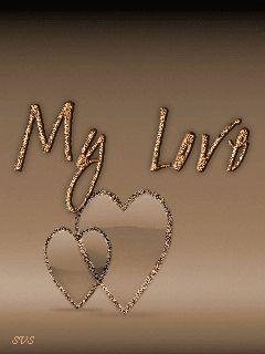 Моя любовь - анимация на телефон №701840