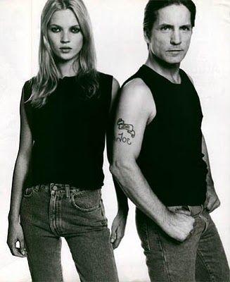 Justin Teodoro: Kate Moss & Joe Dallesandro