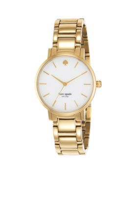 kate spade new york Gold Womens Gold Gramercy Watch