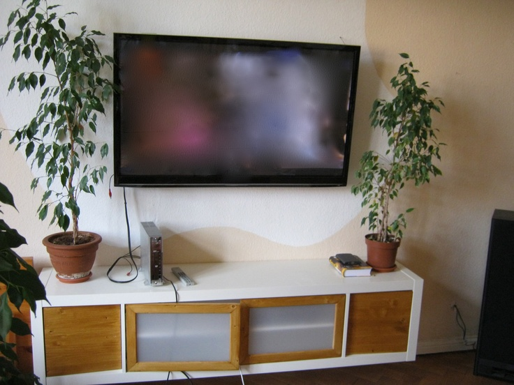 73 best expedit images on pinterest ikea hackers ikea for Expedit tv bench
