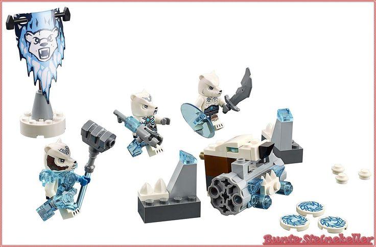 Lego® Chima 70230 Eisbärenstamm SET NEU OVP   eBay