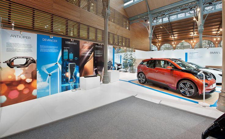 BMW au Salon 1.618 Sustainable Luxury Paris -Avril 2014 en collaboration avec la soc Delta Reflex