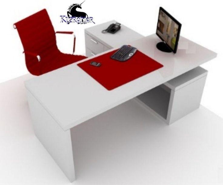 Escritorios minimalistas para oficina buscar con google for Dimensiones de escritorios de oficina