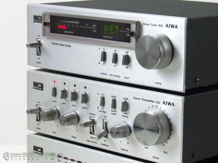 Aiwa 22 Mini Hi Fi System Vintage Vinyl Stereo Late 70 S