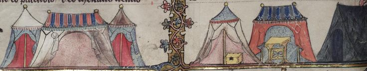 Bodleian Library MS. Bodl. 264, The Romance of Alexander in French verse, 1338-44; 198v