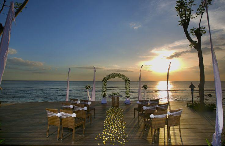 Sunset Chapel at Sudamala Senggigi Beachfront Deck