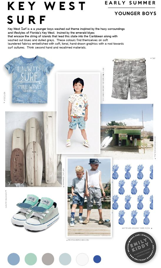 Spring | Summer 2017 - Key West Surf - Younger Boys