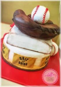 Baseball Glove Cake #2