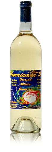 Hurricane Class 5 white sangria - made by Florida Citrus Winery in St. Pete, Fl. An award winning wine!!!