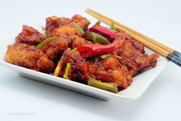 Dry Indian Chilli Chicken ~ Indo Chinese Recipe Series    Probably one of the dishes I crave th