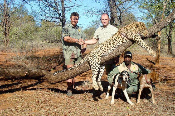 A photo from the Bushman Safaris' Facebook page. The company's founder, Theo Bronkhorst, is facing charges. (Facebook)
