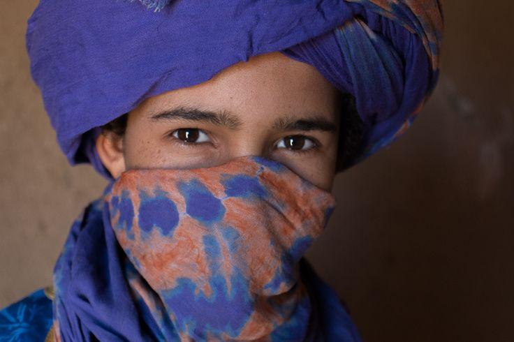 Morocco. Merzouga. Sahara Desert. Desert Berber