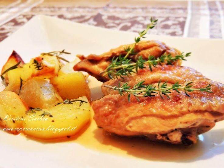 Amore per la cucina!: Курица в пиве/ Pollo alla birra