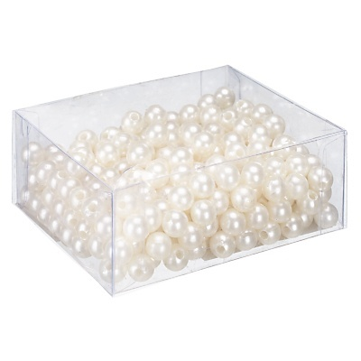 Use for center peices with flowers Pearl table scatters wedding