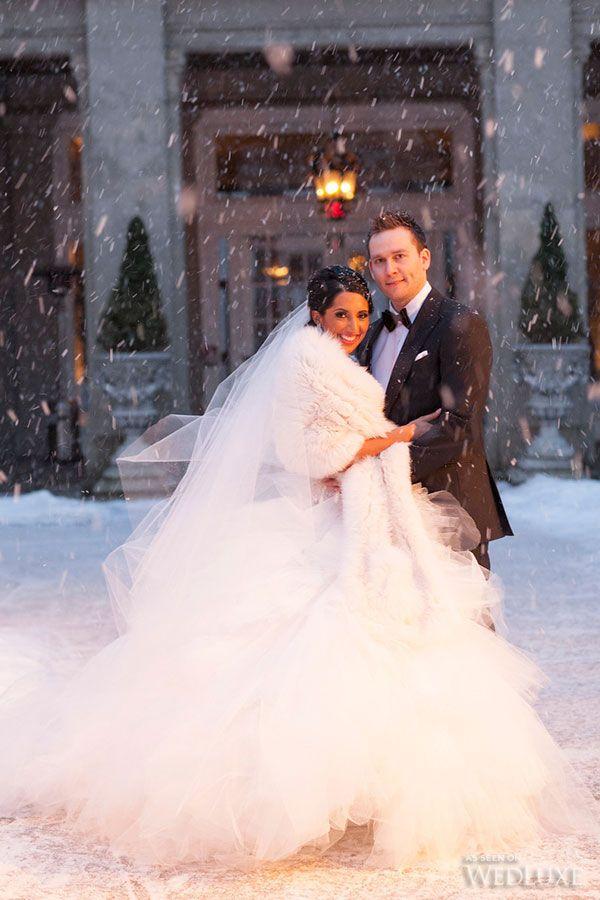 winter wonderland wedding south africa%0A Breana   Zak    Winter  Wonderland  Wedding in Toronto    Photography by