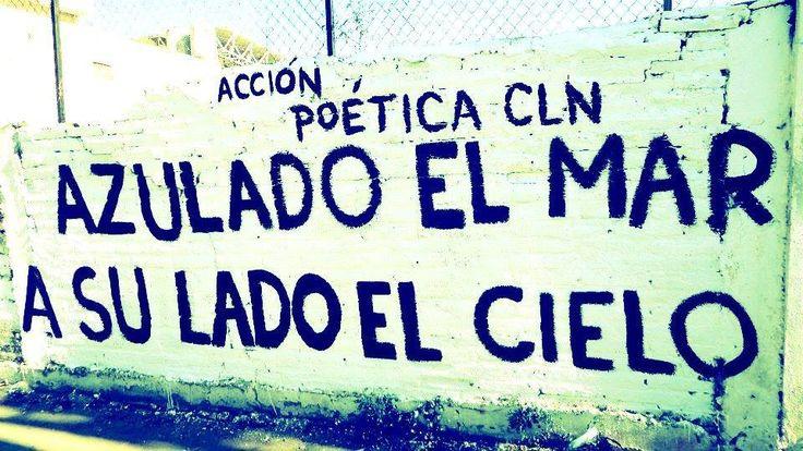 Letras, paredes, frases, amor vida, paz, acción, poética ...