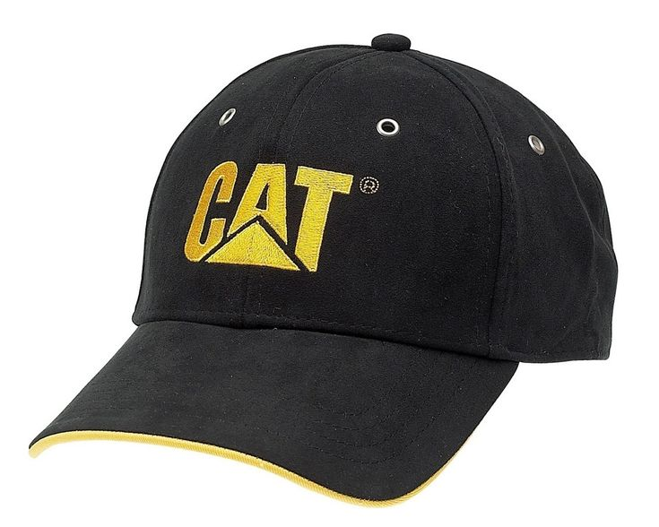 The Caterpillar Classic Baseball Cap with the CAT logo embroidered on the front will literally top off your work or casual outfit.