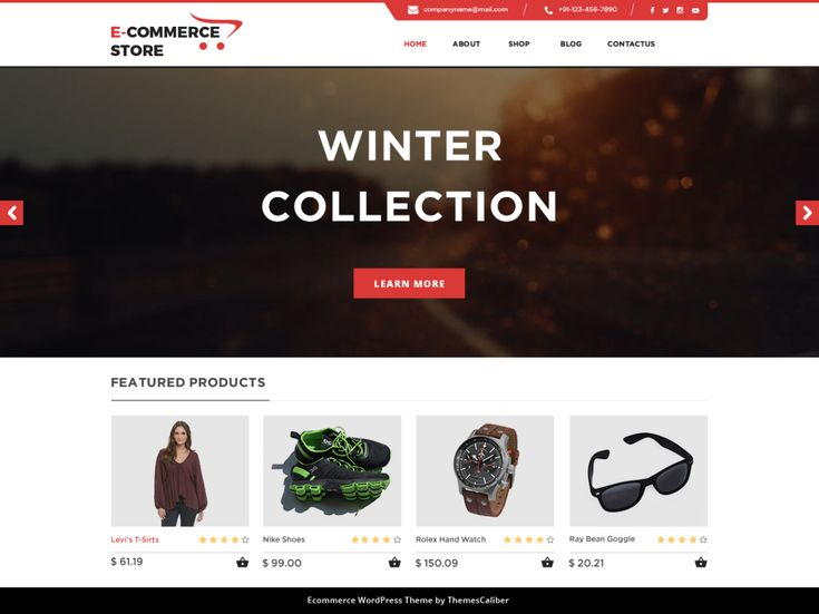TC eCommerce Shop WordPress Theme is a definitive answer for make multipurpose online stores, for example, online book shop, sports store, electronic things store, versatile and tablet store, clothing store,...