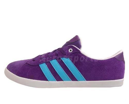 new style 60392 0c4d2 adidas neo purple