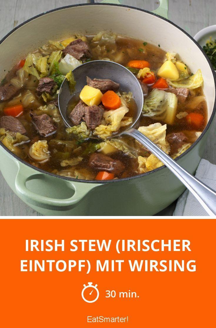 Irish Stew (Irischer Eintopf) mit Wirsing - smarter - Zeit: 30 Min. | eatsmarter.de