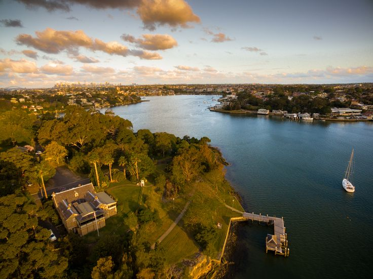 Areial Photography above Gladesville
