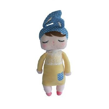 Sweet Dreams Doll Yellow & Blue $25.00 #sweetcreations #baby #toddlers #kids #softtoys #toys #cuddle