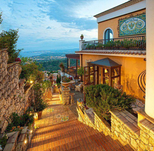 : Dreams Houses, Boutiques Hotels, Sicily Italy, Villas Ducal, Vacations Spots, Hotels Villas, Places, Travel, Taormina Sicily