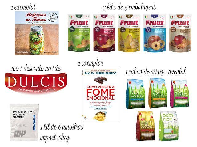Amostras e Passatempos: Giveaway de Aniversário by Arco-Íris na Cozinha