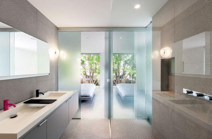 930 best images about salle de bain on pinterest coins for Verre 51 piscine design tabac