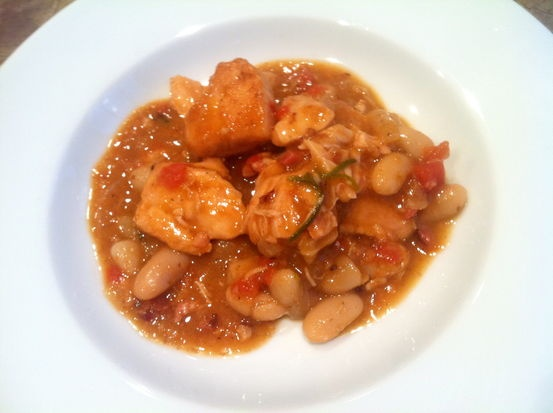 Chicken and White Bean Stew with Rosemary | Recipe