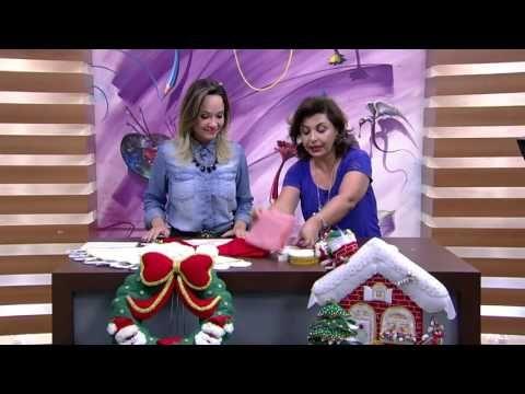 Mulher.com - 01/10/2015 - Papai noel organizador de talher - Lia Thomaz PT2 - YouTube