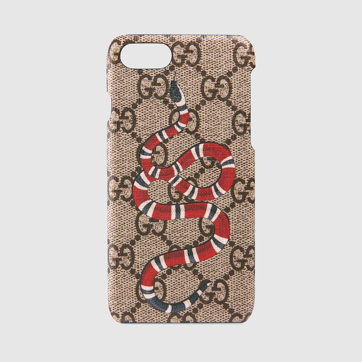 Kingsnake print iPhone 7 case