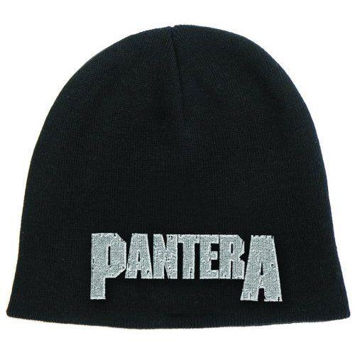 Pantera Beanie Hat: Logo Wholesale Ref:PANTBEAN02