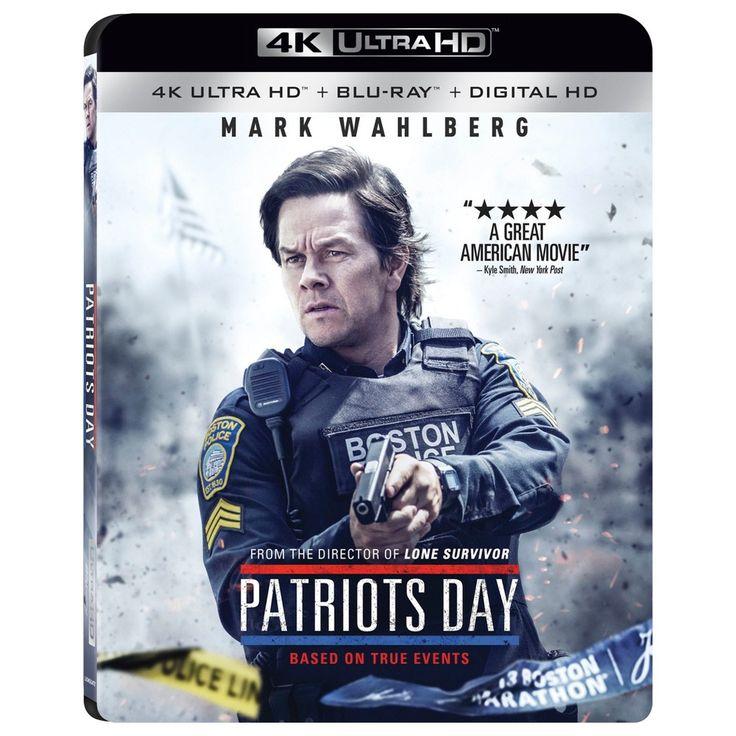 Patriots Day (4K/Uhd + Blu-ray + Digital)
