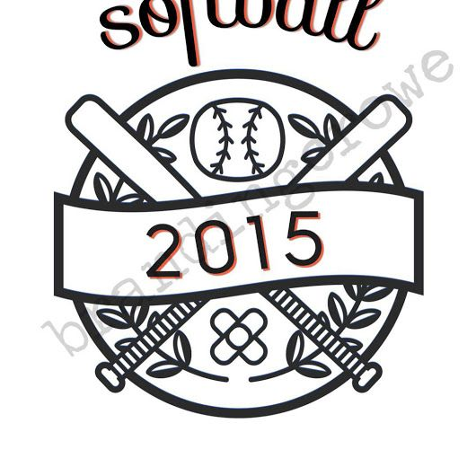 Softball Logos! Logo design for $5. Message me if interested! #softball #logo...